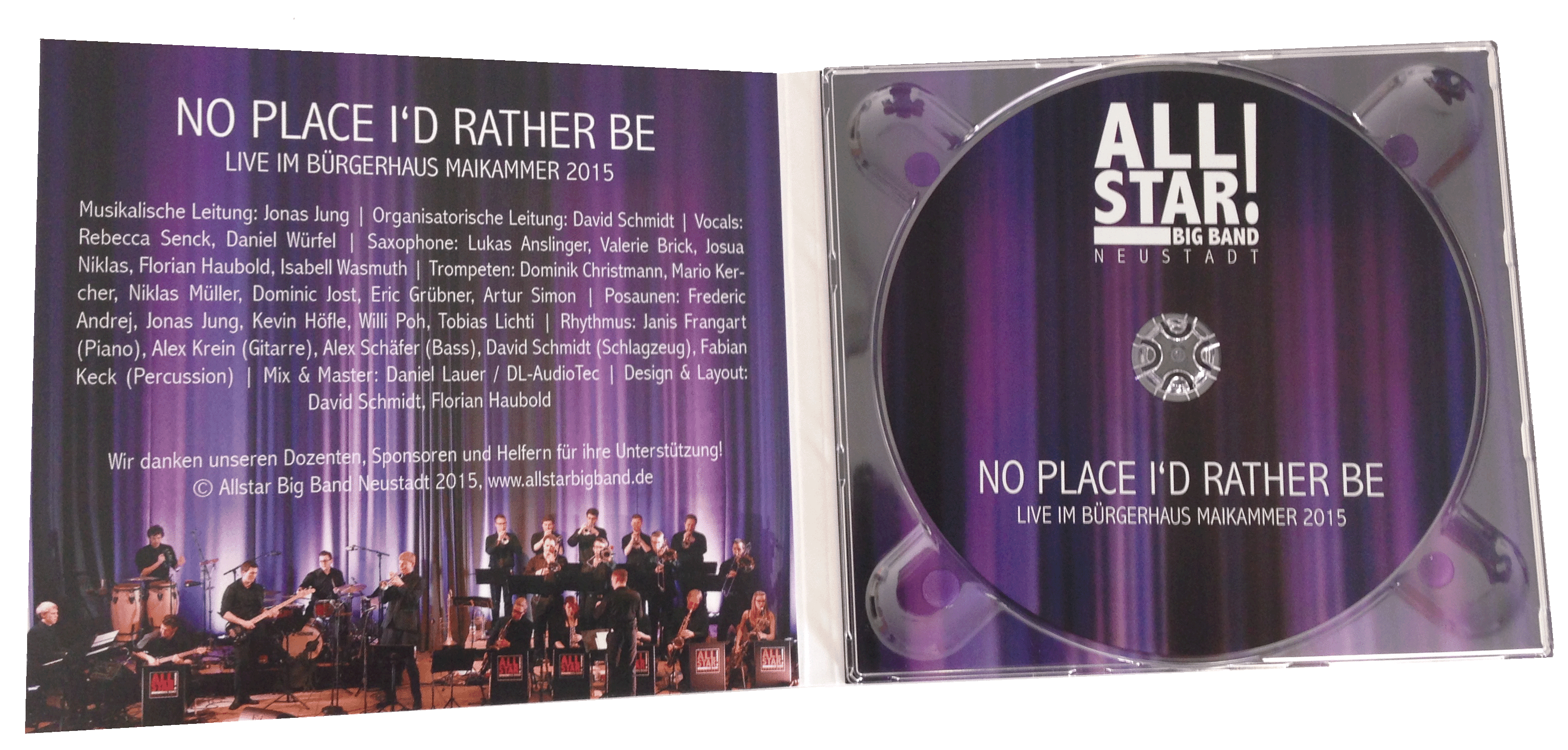 CD-Cover No Place I'd Rather Be